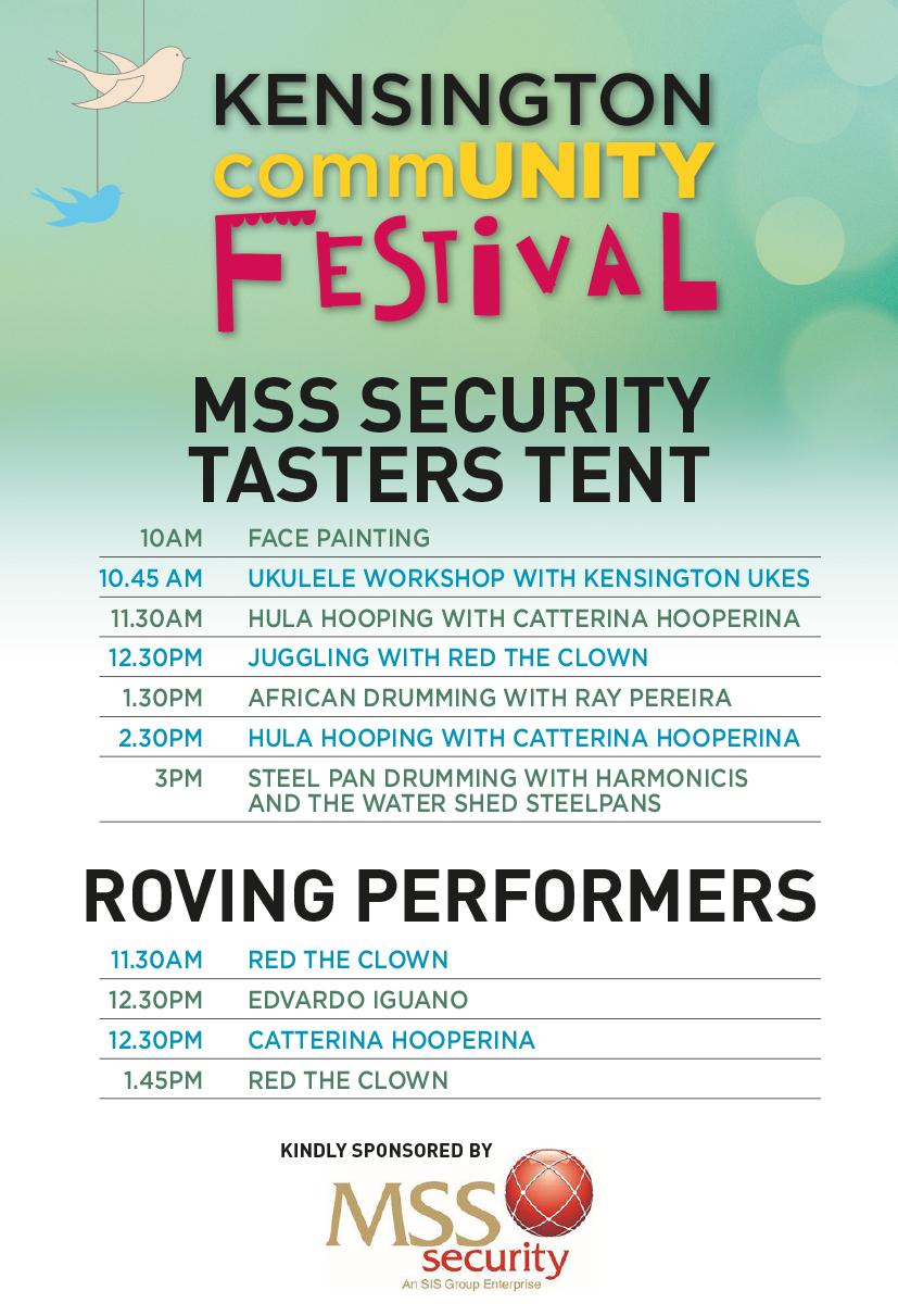 KCF Tasters Tent